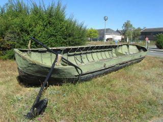bateau avant restauration